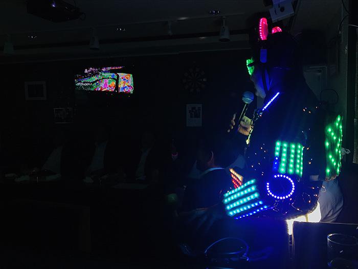 LEDものまね
