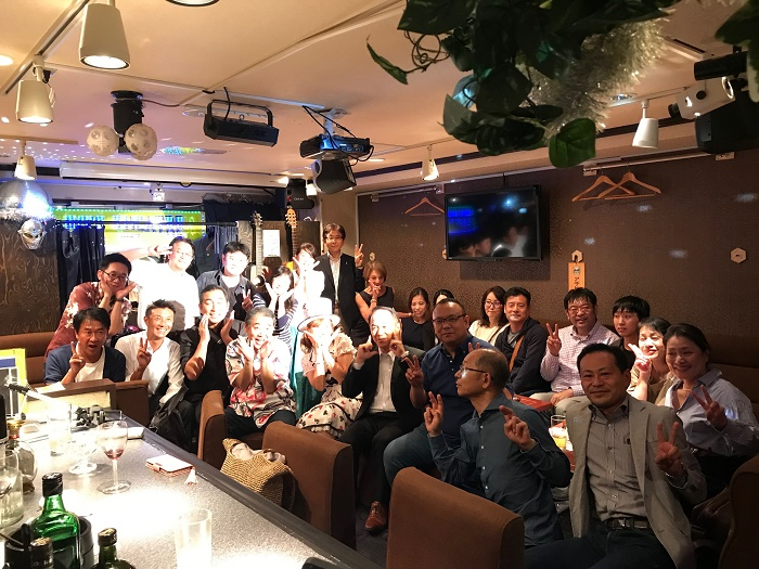 23名のパーティー!当店初の大人数での集合写真!